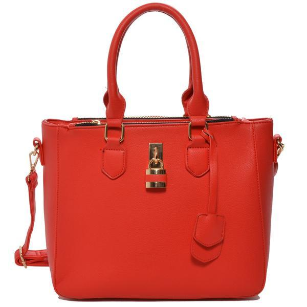 Mechaly Aimee Shoulder Handbag in Red-Womens Purse-Mechaly-Unicorn Goods