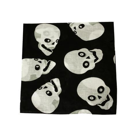 Mechaly Skull Heads Bandana-Bandana-Mechaly-Unicorn Goods
