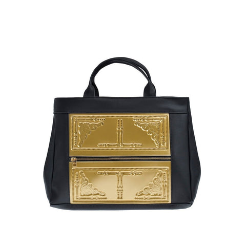 MeDusa Asia Shoulder Bag in Gold and Black-Womens Purse-MeDusa-Unicorn Goods