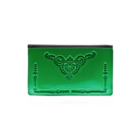 MeDusa Dominik Wallet in Green-Womens Wallet-MeDusa-Unicorn Goods