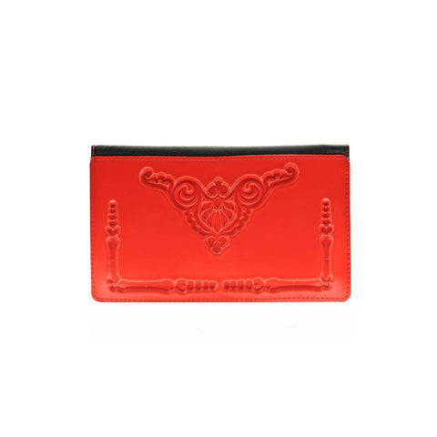 MeDusa Dominik Wallet in Red-Womens Wallet-MeDusa-Unicorn Goods