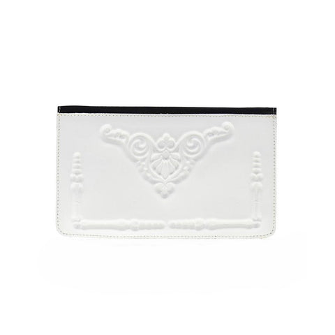 MeDusa Dominik Wallet in White-Womens Wallet-MeDusa-Unicorn Goods