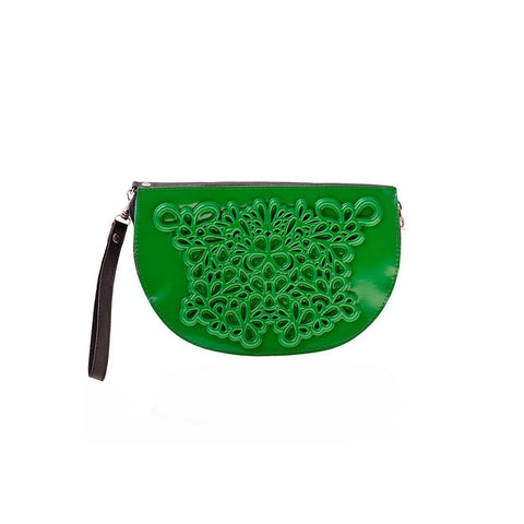 MeDusa Dori Wristlet in Green-Womens Wallet-MeDusa-Unicorn Goods