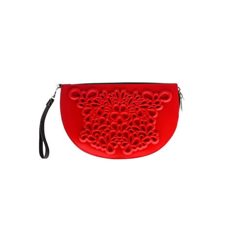 MeDusa Dori Wristlet in Red-Womens Wallet-MeDusa-Unicorn Goods