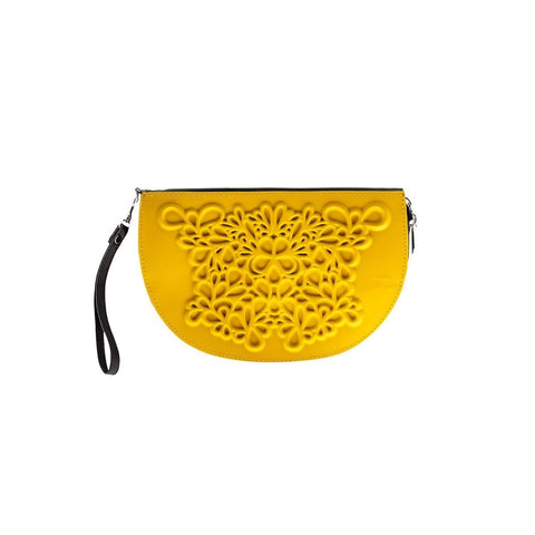 MeDusa Dori Wristlet in Yellow-Womens Wallet-MeDusa-Unicorn Goods