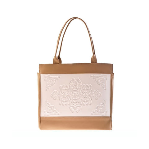MeDusa Felissya Shoulder Bag in White and Beige-Womens Purse-MeDusa-Unicorn Goods