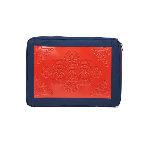 MeDusa Laptop Sleeve in Red and Blue-Tech Case-MeDusa-Unicorn Goods