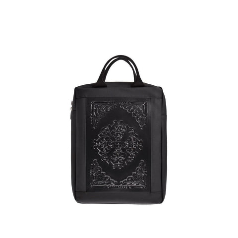 MeDusa Lena Small Backpack in Black-Womens Backpack-MeDusa-Unicorn Goods