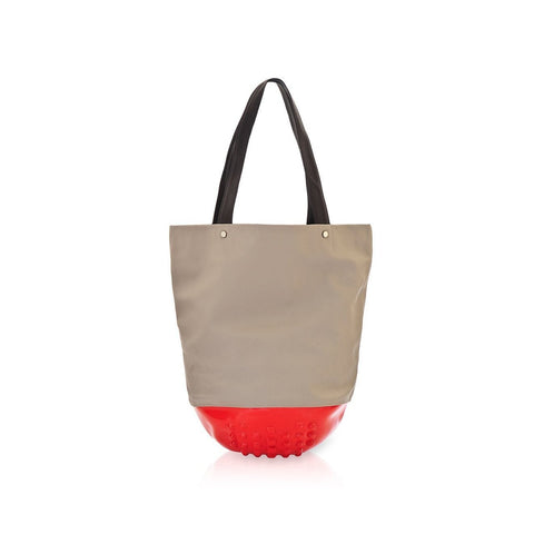MeDusa London Tote Bag in Red and Beige-Womens Tote-MeDusa-Unicorn Goods