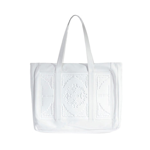 MeDusa Mary Shoulder Bag in White-Womens Purse-MeDusa-Unicorn Goods