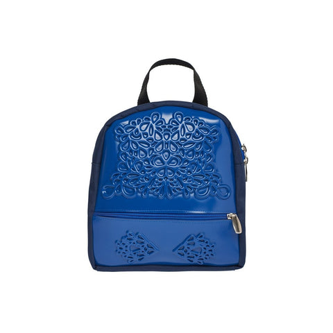 MeDusa Olive Backpack in Blue-Womens Backpack-MeDusa-Unicorn Goods