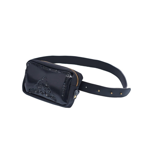 MeDusa Pouch Bag in Black-Womens Fanny Pack-MeDusa-Unicorn Goods