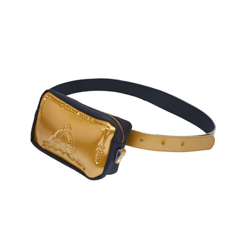 MeDusa Pouch Bag in Gold and Black-Womens Fanny Pack-MeDusa-Unicorn Goods