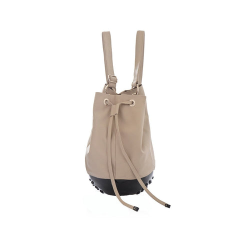 MeDusa Rio Bag in Black and Beige-Womens Backpack-MeDusa-Unicorn Goods