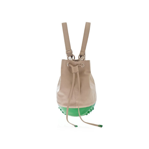 46f9bf2cb1d8 MeDusa Rio Bag in Green and Beige