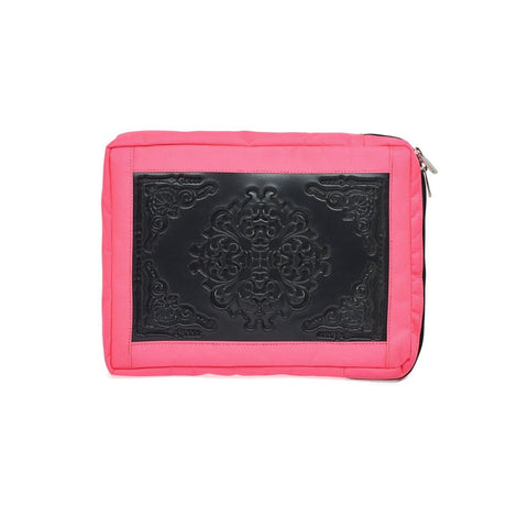MeDusa Small Laptop Sleeve in Black and Pink-Tech Case-MeDusa-Unicorn Goods
