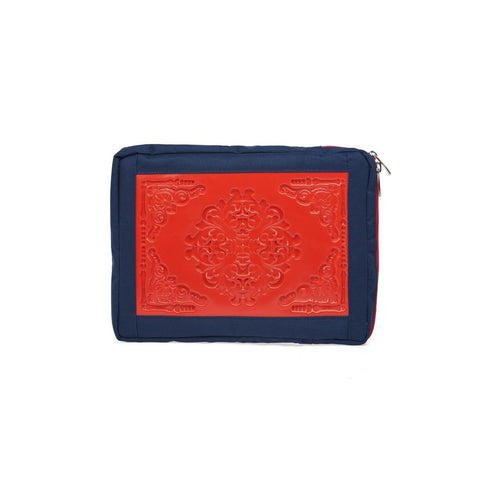 MeDusa Small Laptop Sleeve in Red and Blue-Tech Case-MeDusa-Unicorn Goods