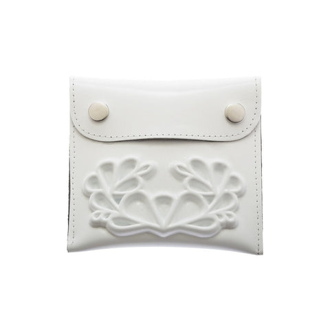 MeDusa Small Wallet in White-Womens Wallet-MeDusa-Unicorn Goods