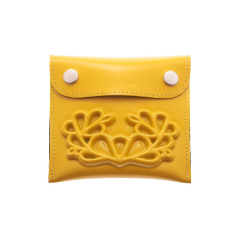 MeDusa Small Wallet in Yellow-Womens Wallet-MeDusa-Unicorn Goods