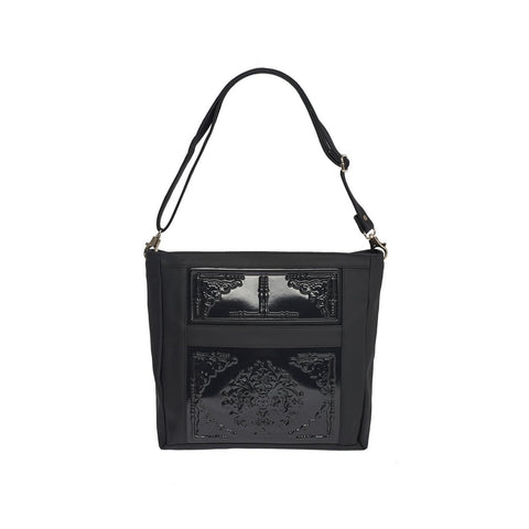 MeDusa Zoe Big Shoulder Bag in Black-Womens Purse-MeDusa-Unicorn Goods
