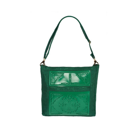 MeDusa Zoe Big Shoulder Bag in Green-Womens Purse-MeDusa-Unicorn Goods