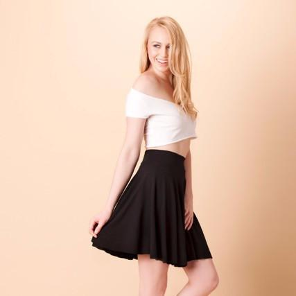 Mooi Lab Black Short Skirt-Womens Skirt-mooi lab-Unicorn Goods