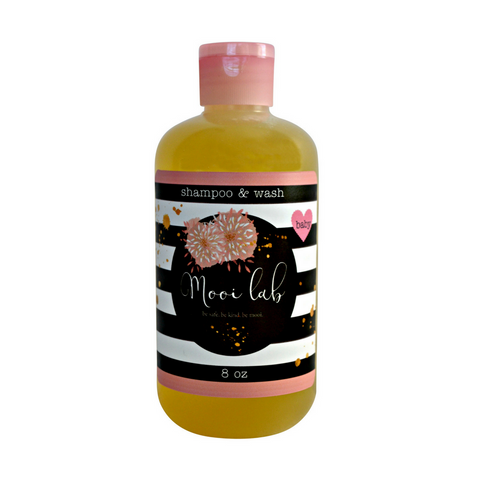 Mooi Lab Oatmeal Milk & Honey Baby Shampoo and Wash-Kids - Body-mooi lab-Unicorn Goods