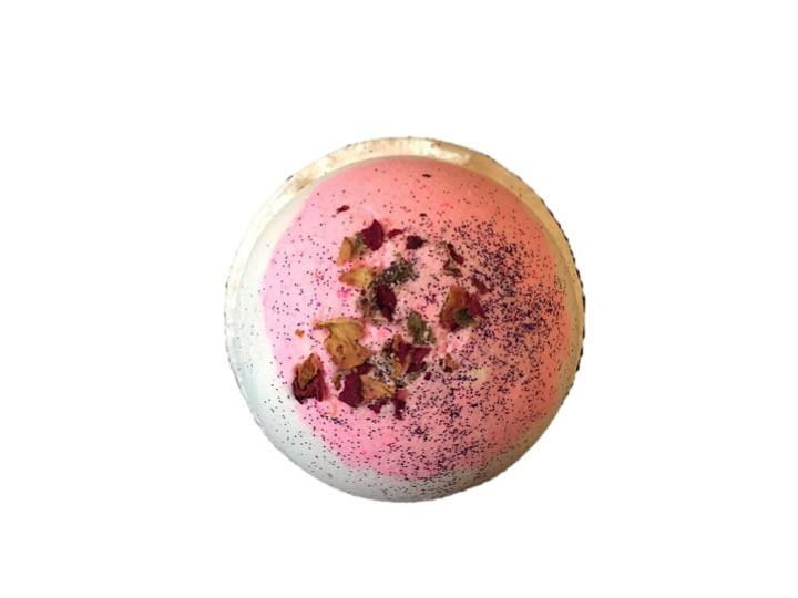 Mooi Lab Raspberry Bath Bomb-Unisex Bath-mooi lab-Unicorn Goods