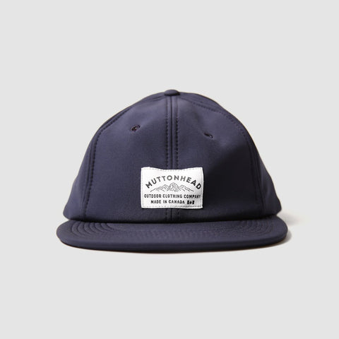 Muttonhead 6 Panel Rain Cap in Navy-Unisex Baseball Cap-Amanda Jay-Unicorn Goods