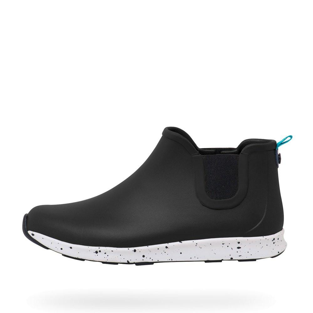 Native Shoes Apollo Rain Boots in Black-Unisex Boots-Native Shoes-Unicorn Goods