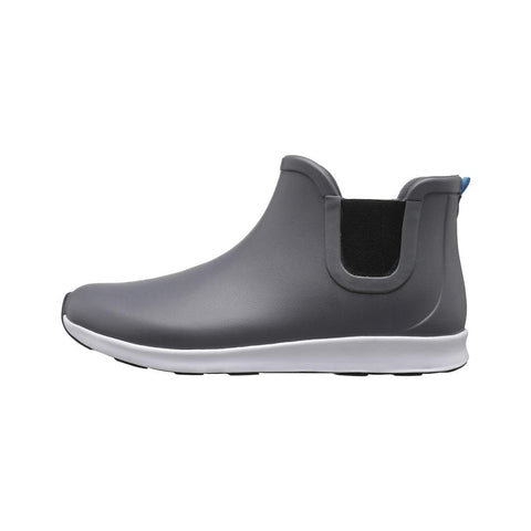 Native Shoes Apollo Rain Boots in Grey-Unisex Boots-Native Shoes-Unicorn Goods