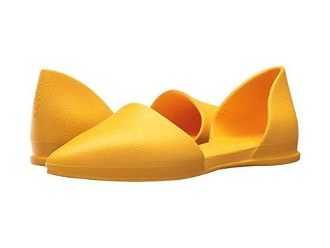 Native Shoes Audrey Flat in Yellow