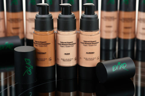 Natural Coverage Liquid Mineral Foundation Makeup-Makeup - Face-Amazon-Unicorn Goods