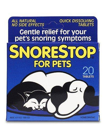 Natural Dog Company Snore Stop for Pets - Tablets-Pet-Natural Dog Company-Unicorn Goods