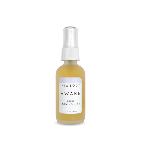 NIU BODY Awake Rose Toning Mist-Womens Skincare-NIU BODY-Unicorn Goods