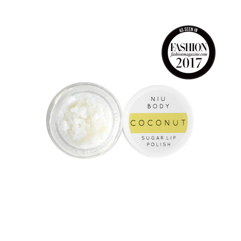 NIU BODY Coconut Lip Polish-Womens Skincare-NIU BODY-Unicorn Goods
