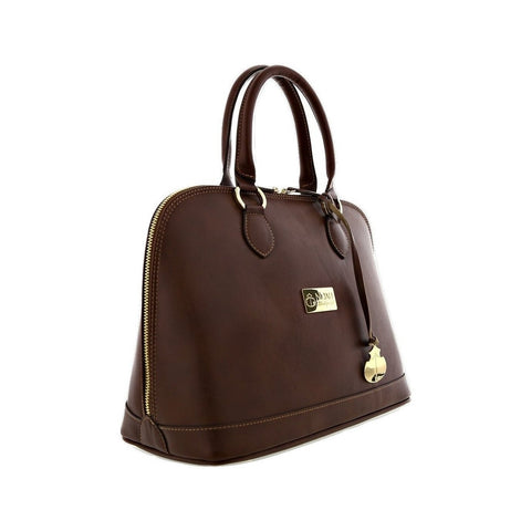 Noah Bowler Handbag in Brown-Womens Purse-Noah-Unicorn Goods