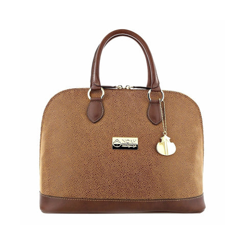 Noah Bowler Handbag in Cognac and Brown-Womens Purse-Noah-Unicorn Goods