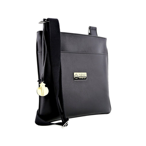 Noah Crossbody Bag in Black-Unisex Satchel-Noah-Unicorn Goods