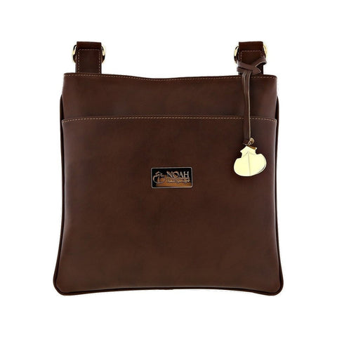Noah Crossbody Bag in Brown-Unisex Satchel-Noah-Unicorn Goods
