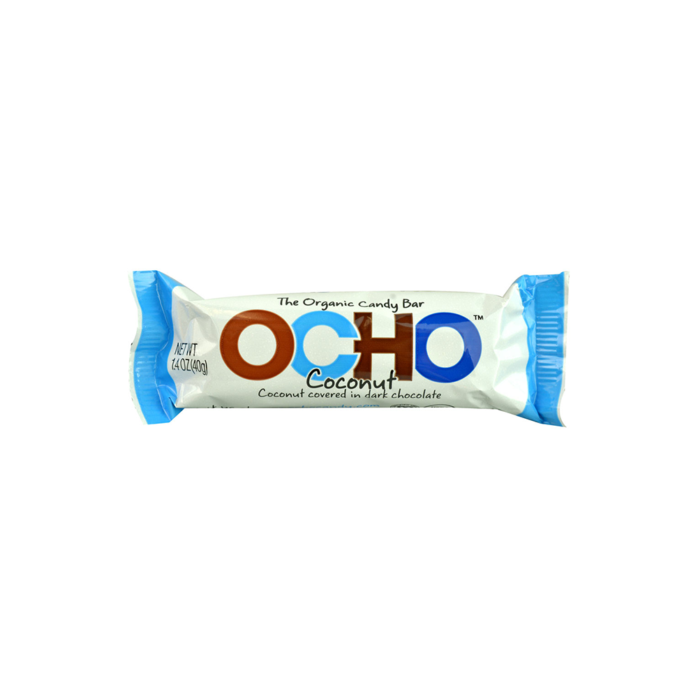 OCHO Organic Certified Vegan Candy Bar - Coconut-Candy-Food-Unicorn Goods