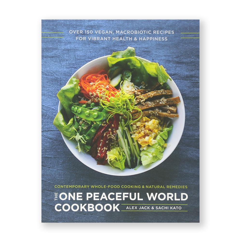 One Peaceful World Cookbook-Cookbook-Amazon-Unicorn Goods