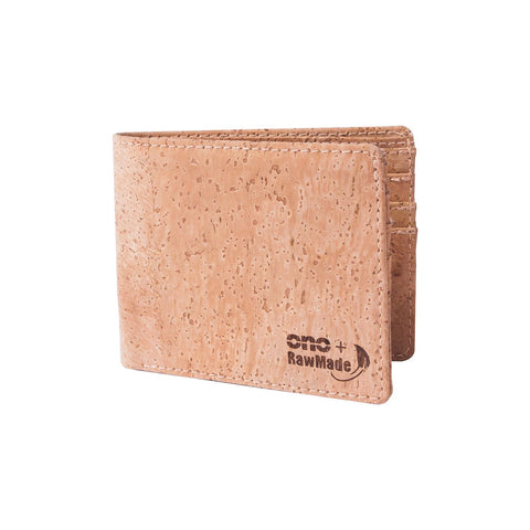 ONO + RawMade Light Cork Wallet-Mens Wallet-RawMade-Unicorn Goods