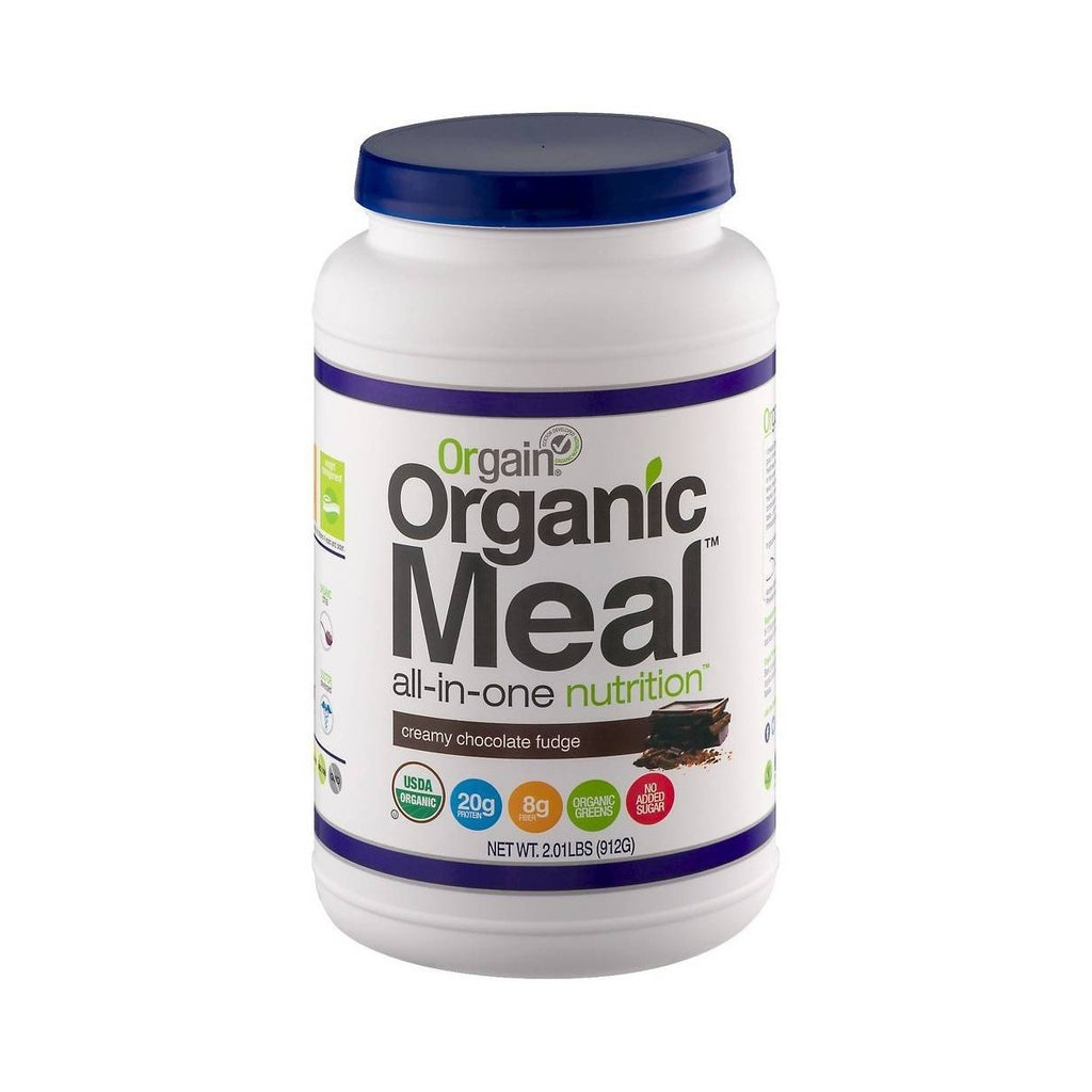Orgain Organic Meal Replacer Creamy Chocolate Fudge Nutritional Protein Powder-Food - Protein-Food-Unicorn Goods
