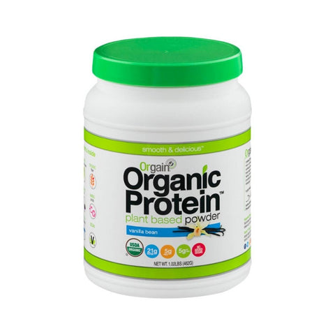 Orgain Organic Vanilla Bean Plant Based Protein Powder-Food - Protein-Food-Unicorn Goods