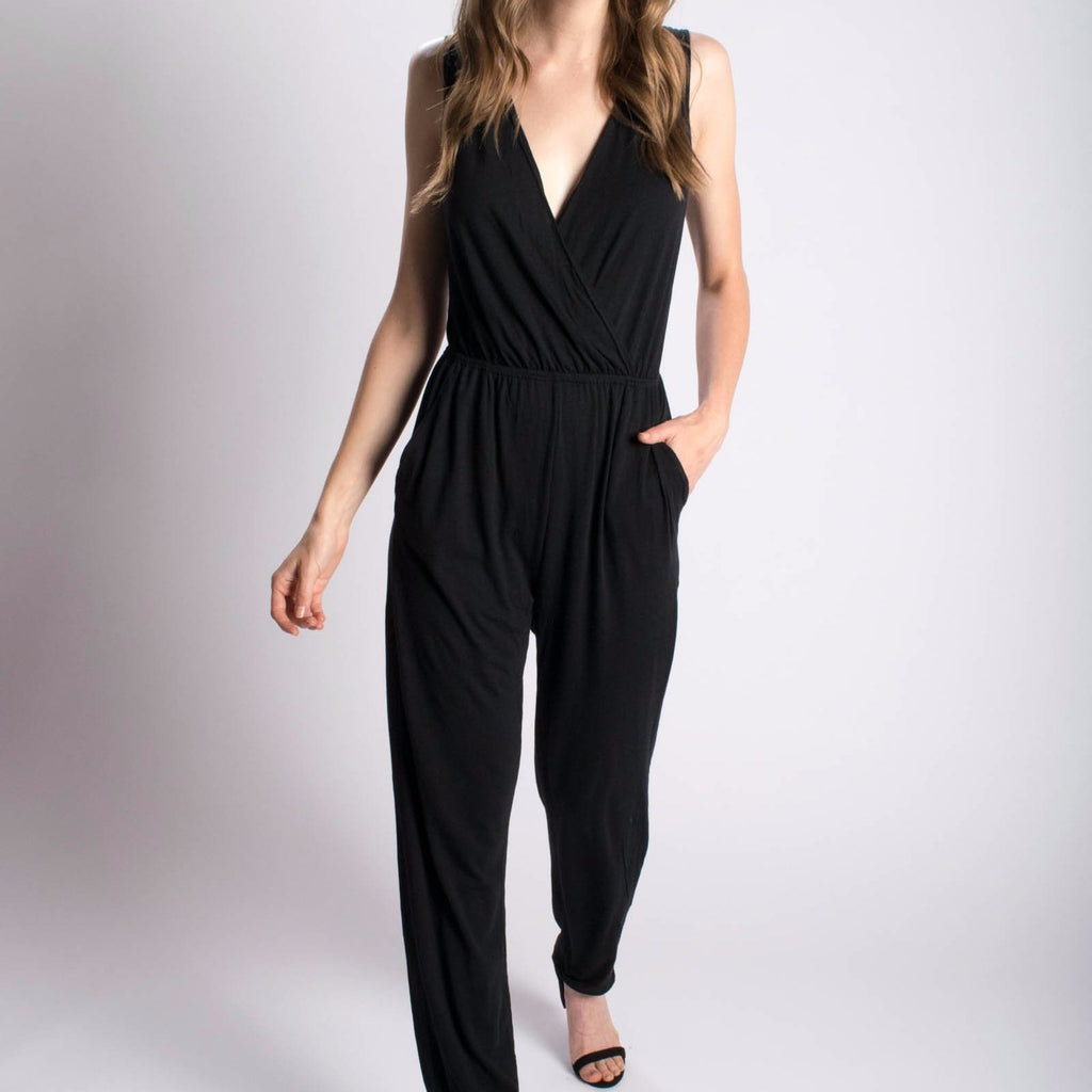 Orgotton Tapered-Leg Jumpsuit-Womens Jumpsuit-Bead and Reel-Unicorn Goods