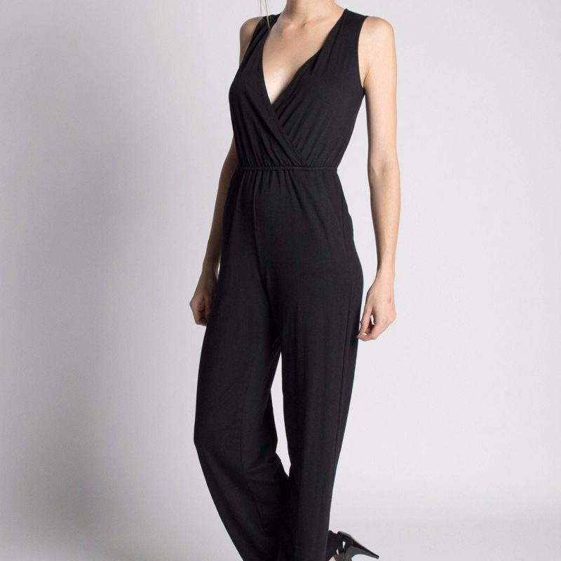 Orgotton Wide-Leg Jumpsuit-Womens Jumpsuit-Bead and Reel-Unicorn Goods