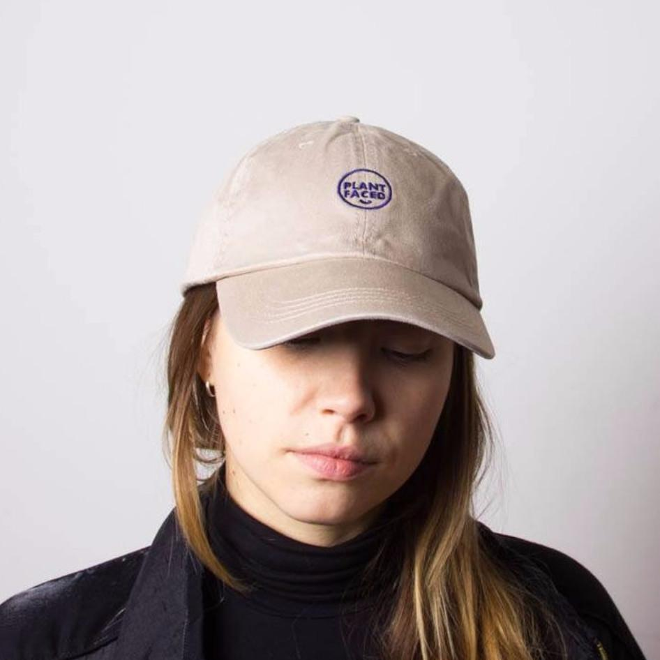 Plant Faced Clothing Plant Faced Dad Hat in Khaki-Unisex Baseball Cap-Plant Faced Clothing-Unicorn Goods