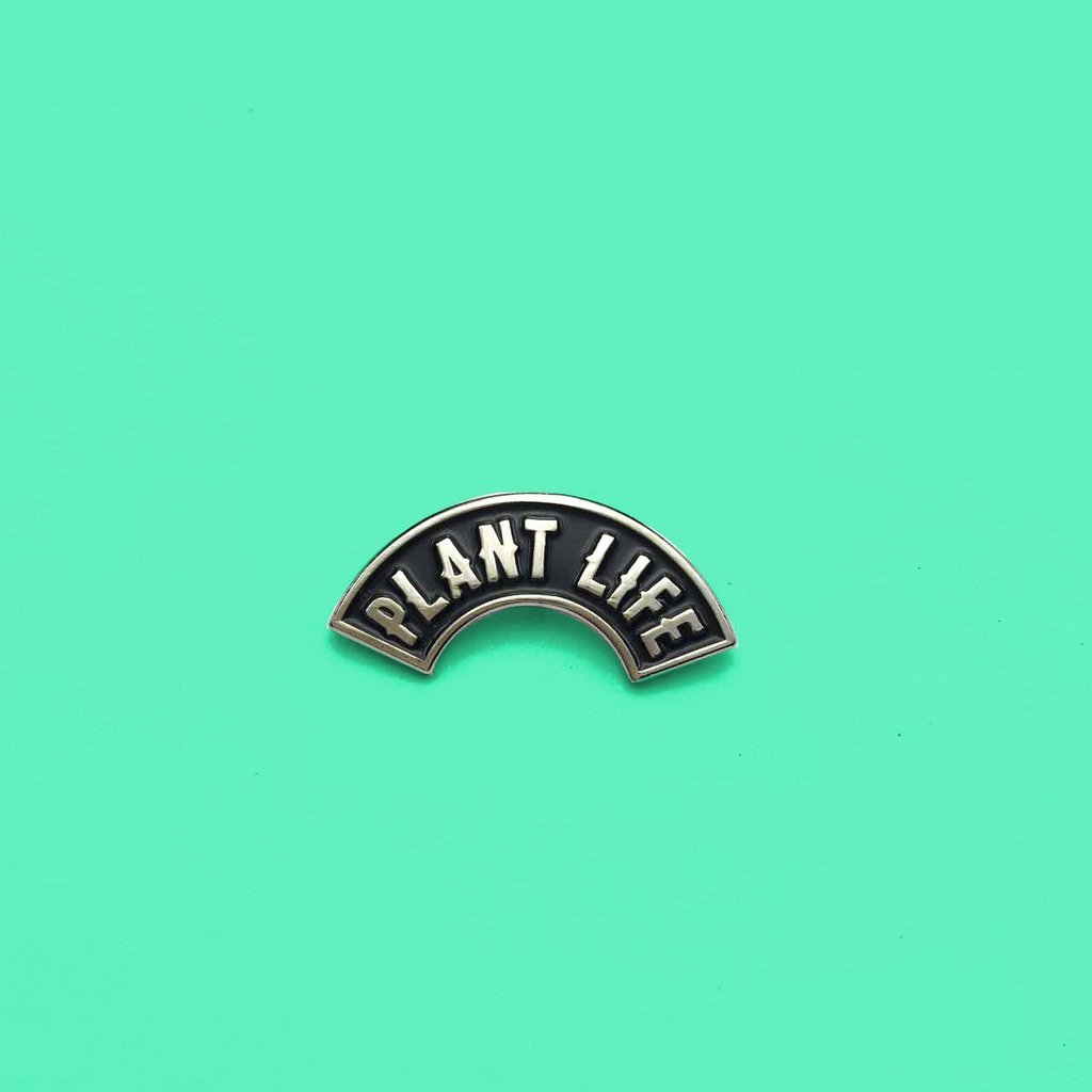 Plant Faced Clothing Plant Life Lapel Pin-Pin-Plant Faced Clothing-Unicorn Goods