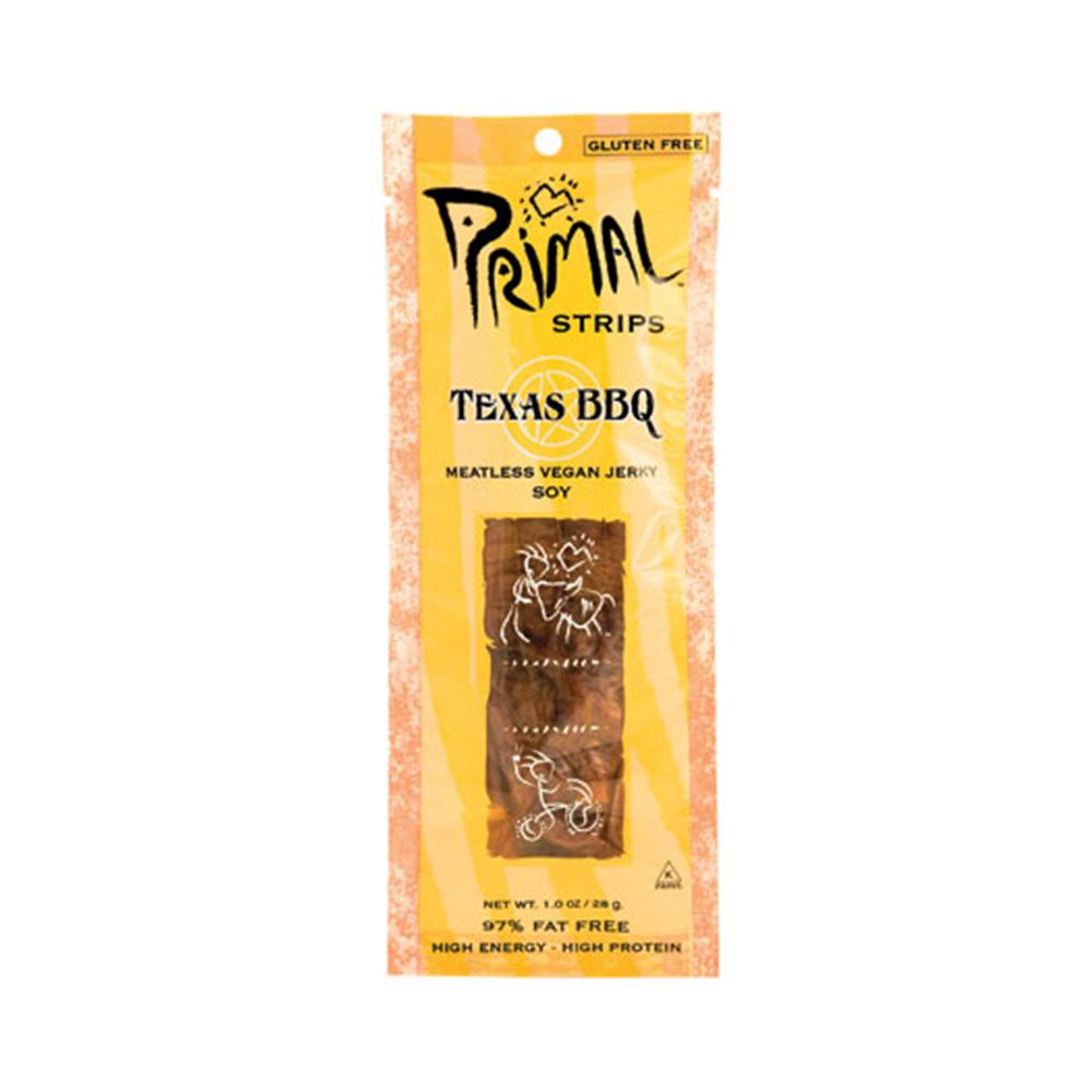Primal Strips Meatless Vegan Jerky in Texas BBQ-Food - Snack-Food-Unicorn Goods